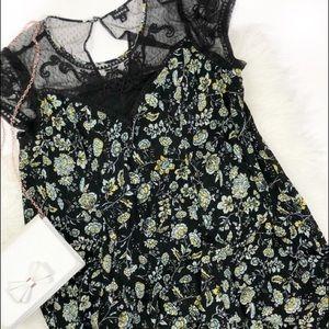 Torrid floral trapeze dress